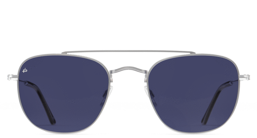The Yorker - Antique Silver/Blue Mirror - URBANE GENTS PH