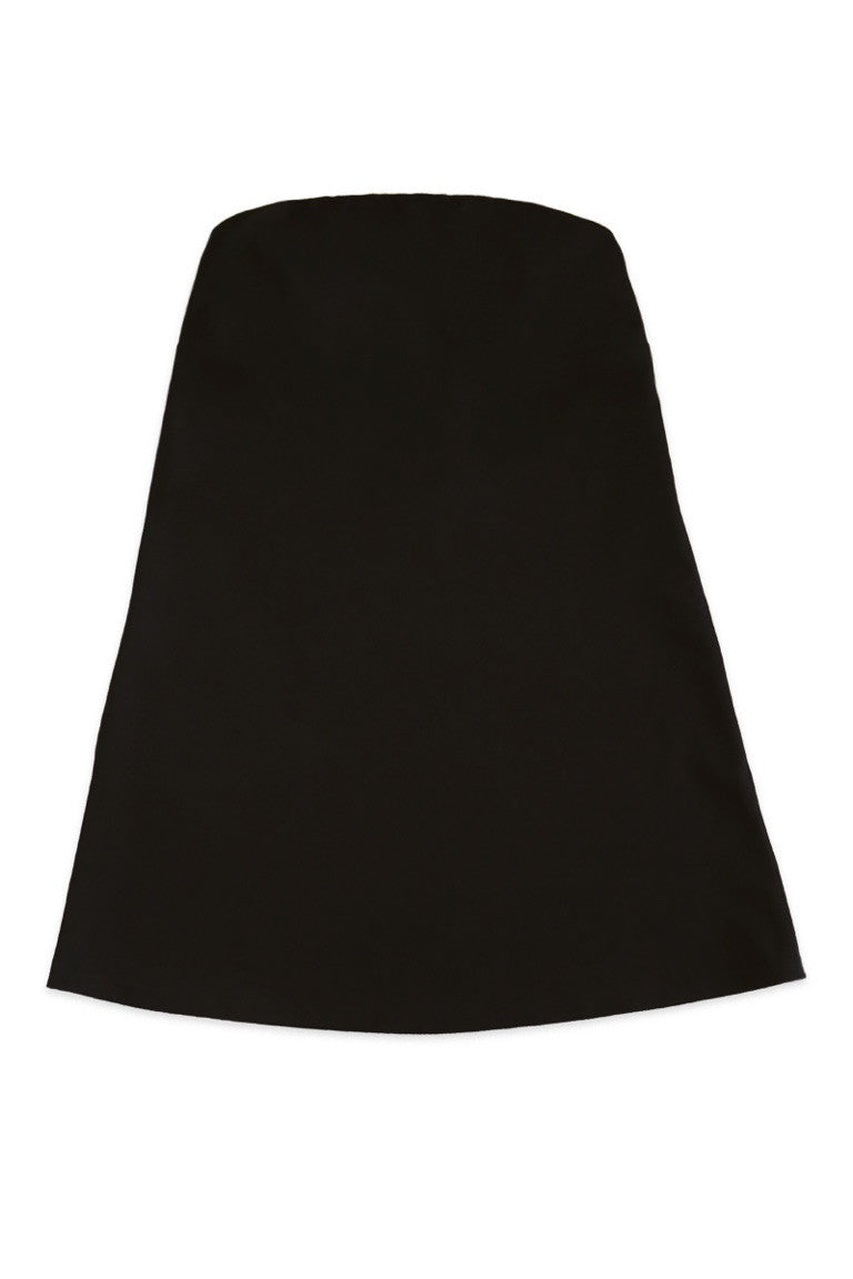 Strapless Swing Dress in Black