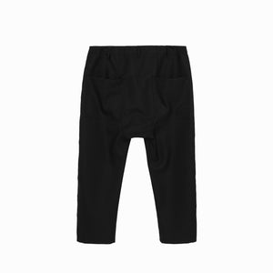 Maverick Drop Crotch Pant in Black