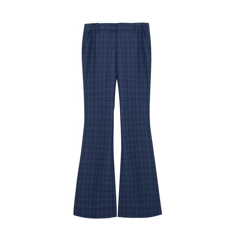 Vera Pant in Hickey Blue Plaid