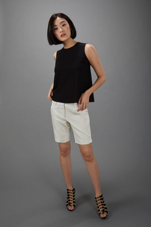 Sleeveless Shell Black