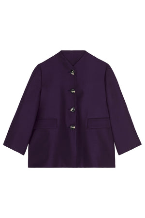 Swing Jacket in Blackberry