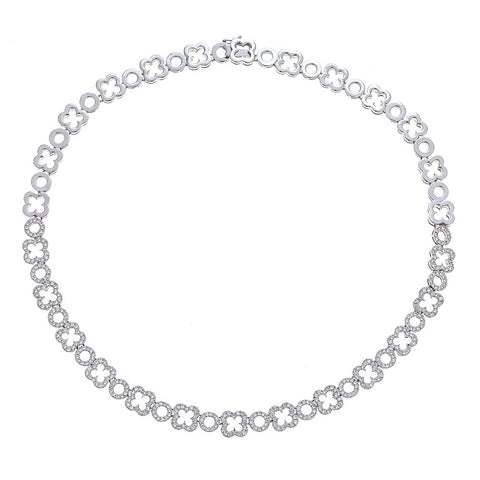 Chimento 18K White Gold & Diamond Necklace