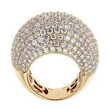 18K Yellow Gold & Diamond Ring