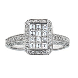 Gregg Ruth 18K White Gold & Diamond Ring