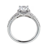 Ritani 18K White Gold & Diamond Engagement Ring