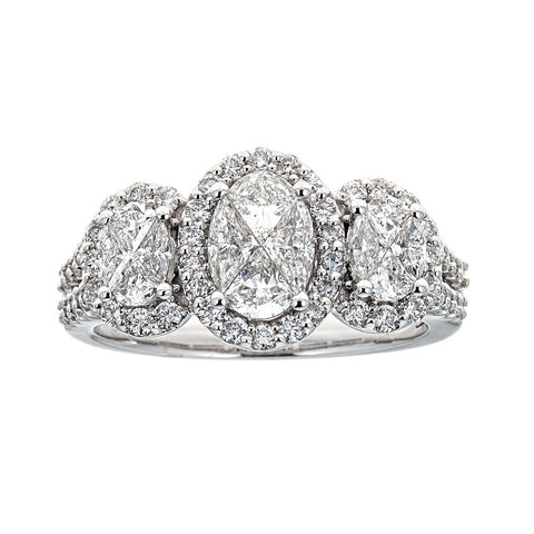 Gregg Ruth 14K White Gold & Diamond Ring