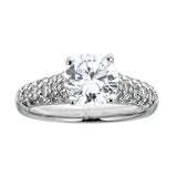 Scott Kay Platinum & Diamond Engagement Ring
