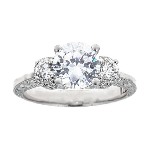 Tacori Platinum & Diamond Engagement Ring