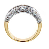 Sonia B. 18K Two-Tone Gold & Diamond Ring
