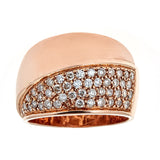 14K Rose Gold & Diamond Ring