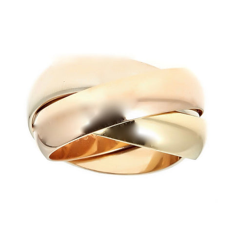 Cartier 18K Gold Trinity Ring in 18K Gold