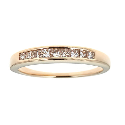 14k yellow Gold and Diamonds Ring
