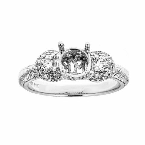 Natalie K Platinum & Diamonds Engagement Ring