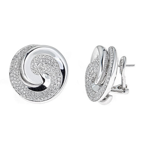 Roberto Coin 18K White Gold Earrings