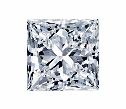 2.74-Carat Princess Cut Diamond