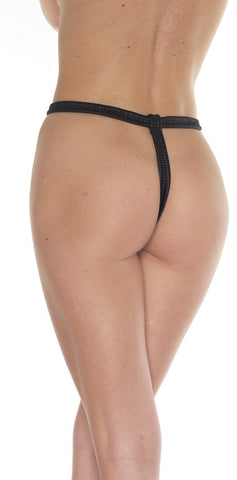 Leather Deluxe G-String
