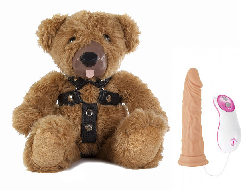 The Teddy Love Strap-On Set