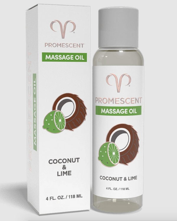 Coconut Lime Massage Oil