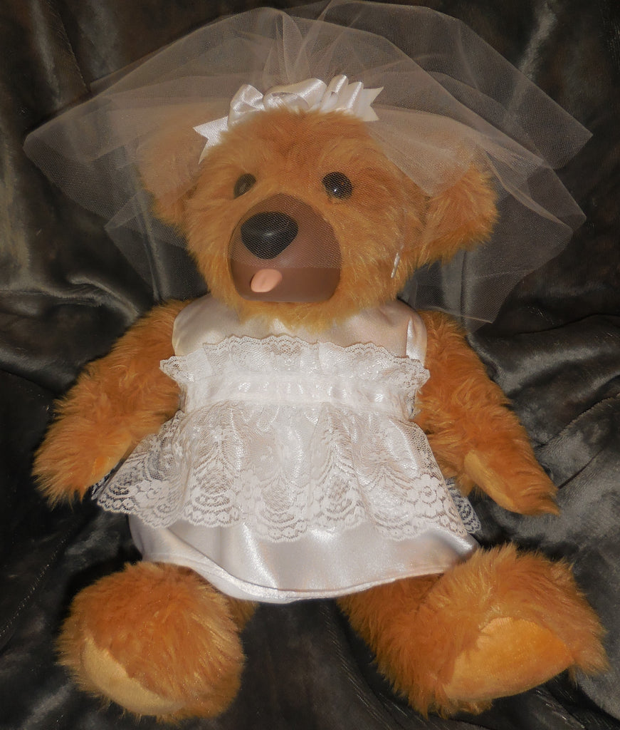 Teddy Love Bridal Bear