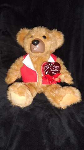 Teddy Love Valentines Day Bear