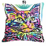 Funky Cat Pillow Covers