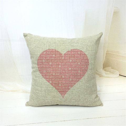 Love Heart ❤ Cushion Covers Offer