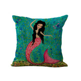 Beautiful Mermaid Pillow Cover Offer
