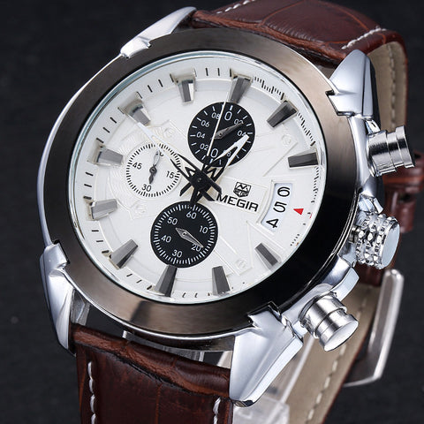 Megir Chronograph Casual Watches
