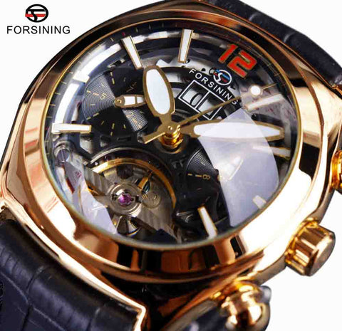 Forsining Convex Glass Watches