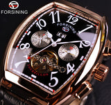 Forsining Luxury Rose Gold Mechanical Watches