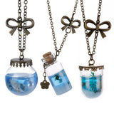 Ocean Mermaid Tear Necklace Offer