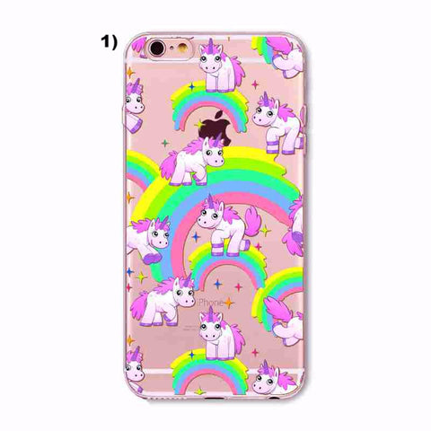 Unicorn Print iPhone Case