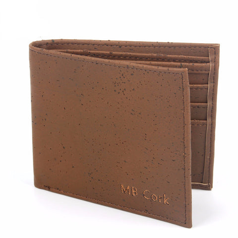 Men's Handmade Cork Wallet