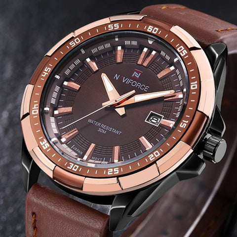 Naviforce Casual Style Men Watches