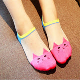 Summer Cute Cat Socks