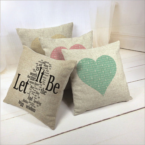 Love Heart ❤ Cushion Covers