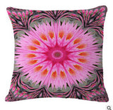 Flower Mandala Cushion Cover