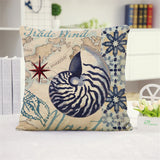 Elegant Ocean Cushion Cover