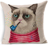 Grumpy Cat Pillow Cover