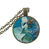 Glass Mermaid Pendant
