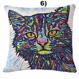 Funky Cat Pillow Covers Offer