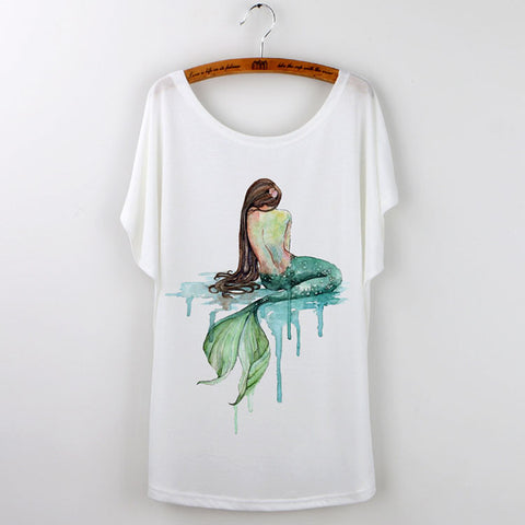 Designer Mermaid Shirts