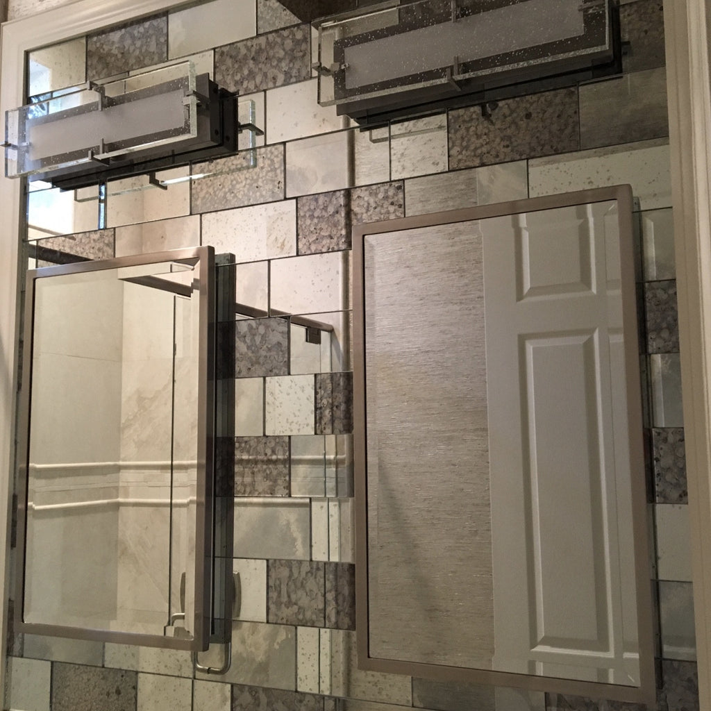 Antique Mirror Tiles