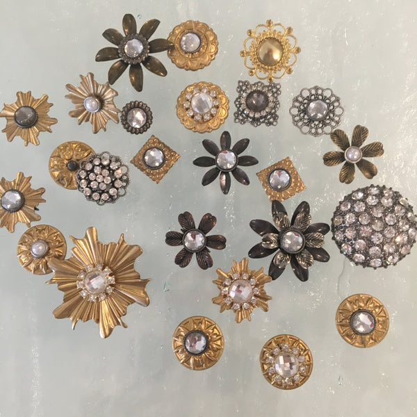 mirror rosettes for antique mirror