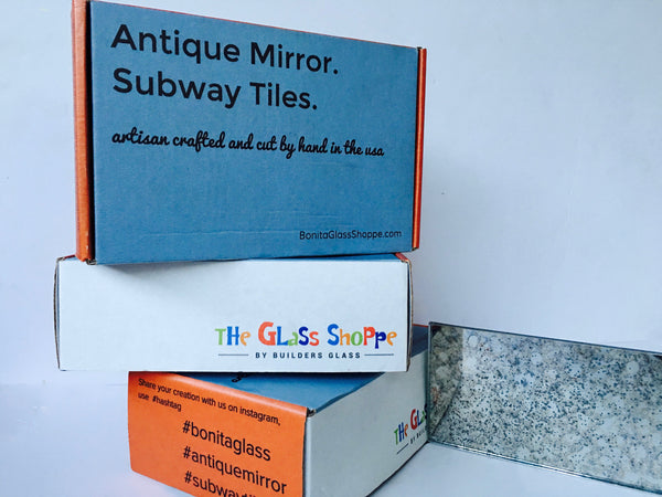 Strip Tile- Antique Mirror Subway Tiles