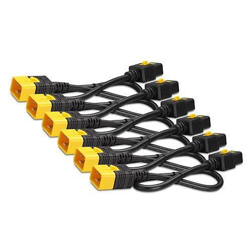 APC Power Cord Kit (6 Ea) Locking C19 To C20 1.2M - TechTide