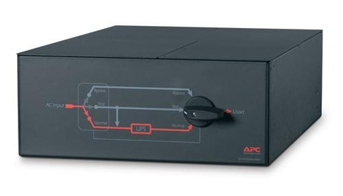 APC Srv Bypass Panel- 230V; 100A; Mbb; Hw In; Iec-320 Out- (8) C13 (2) C19 - TechTide