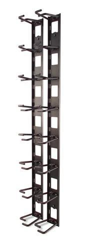 APC VERTICAL CABLE ORGANIZER, 8 CABLE RINGS, ZERO U AR8442 APC Rack Accessories
