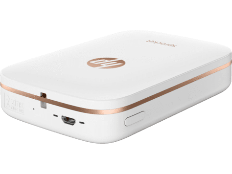 HP Sprocket Photo Printer - White - TechTide